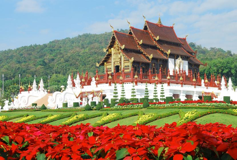 Golden Hall, Chiang Mai, Thailand