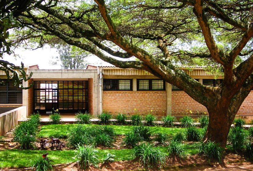 Entrance to National University of Rwanda