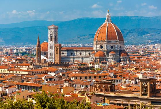 A view of Florence, Italy